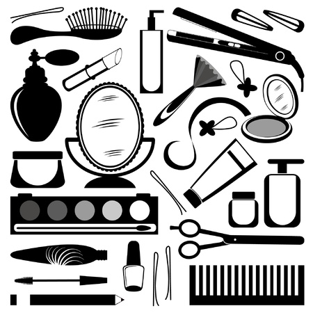 Hairdressers set Vector