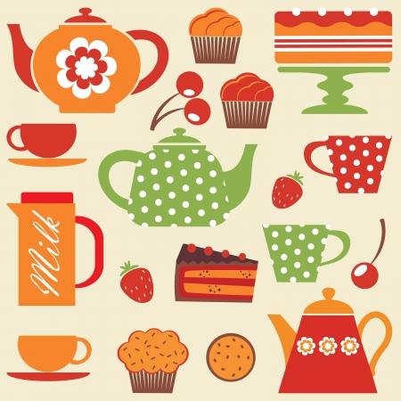 milk tea: Tea party