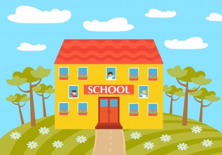 schulgeb�ude: Schule