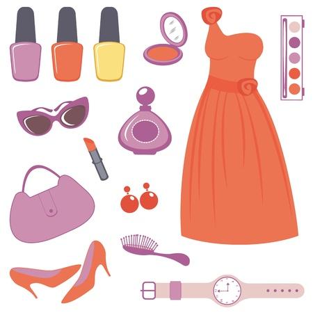 Eine elegante Kollektion von Modeartikeln