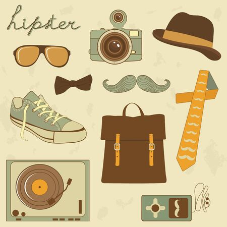 fisheye: A cool set of hipster related items