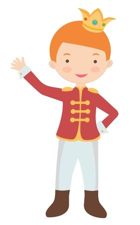 prince: Une illustration de mignon petit prince