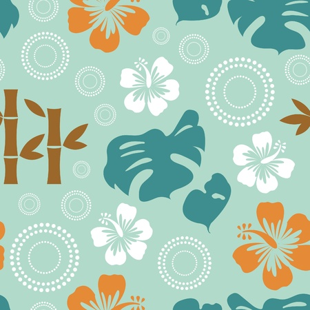 Exotic seamless pattern  Vector format Vector