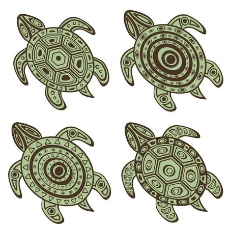 tortuga: Hermosa colecci�n de tortugas decorativos