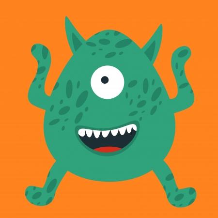 mutant: Illustration of yelling monster