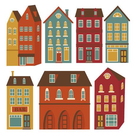 construct: Leuke huizen in levendige kleuren