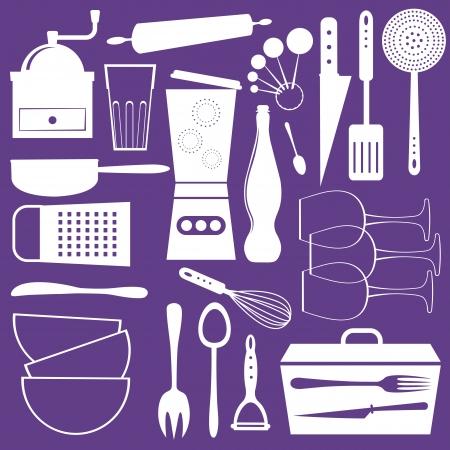 kitchen ware: A stylish kitchen utensils collection