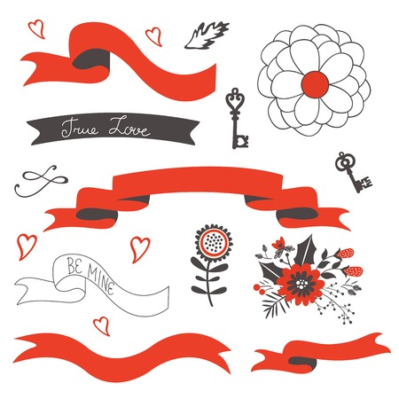 grahic: Elegant set of grahic design elements. Vector illustration
