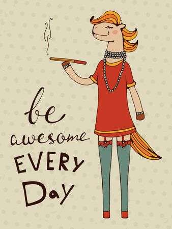 design design elemnt: Be awesome every day