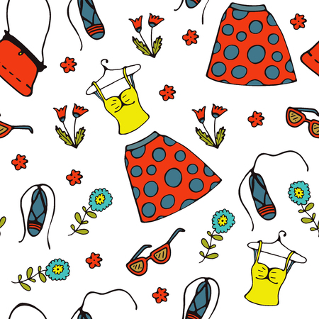Summer clothes pattern