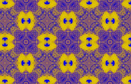 Portuguese Decorative Tiles. Chedder Jungle Oriental Motif. Portuguese Decorative Tiles Background. Forest Blue Fashion Banner. Indigo Islam Watercolor Geo Stockfoto