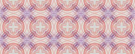 Background Hand Drawn Geometrical Pattern. Pen Garden Graphic Carpet. Hand Drawn Geometrical Pattern. Striped Faience Spanish Banner. Modern Summer Ornate