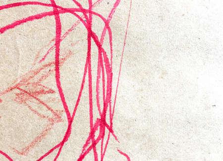 Hand Drawn Messy Illustration. Wall Art Canvas. Happy Childlike Card.  Triangular Design Elements Background. Energy Childish Poster. Fun Artwork.