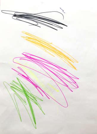 Wall Art Canvas. Fun Childlike Paintings.  Acrylic Modern Painting. Triangular Design Elements Background. Vibrant Childish Pattern. Happy Print.