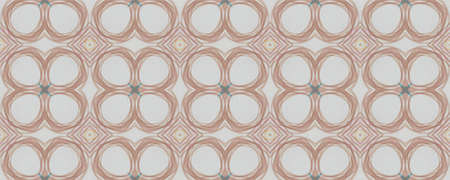 Hand Drawn Geometrical Pattern. Line Autumn Modern Illustration. Background Hand Drawn Geometrical Pattern. Repeat Fashion Portuguese Ornate. Modern Hawaii Azulejo