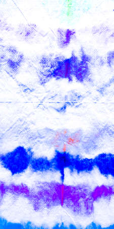 Paintbrush Seamless Water Color Pattern. Background Seamless Water Color Pattern. Organic Violet Vivid Illustration. Watercolor Clouds Acrylic. Cyan Splash Ink Pattern. Archivio Fotografico - 150609448