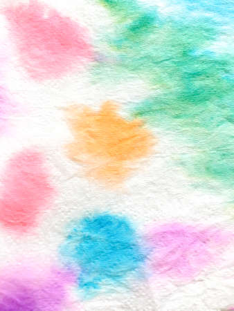 Indian Ikat. Aquarelle Artistic Artwork. Paintbrush Kilim Art. Dye Background Print. Ink Pattern. Splash Artistic Canvas. Shibori Design. Archivio Fotografico - 150604589