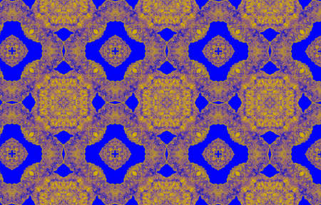 Portuguese Decorative Tiles. Chedder Spring Square Decor. Portuguese Decorative Tiles Background. Hawaii Blue Fashion Motif. Gold Italian Bohemian Ethnic