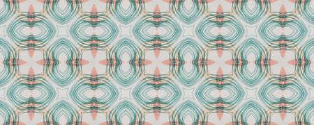 Background  Geometrical Pattern.  Flower Azulejo Wall.  Geometrical Pattern. Graphic Boho Lisbon Design. Freehand Natural Square Archivio Fotografico - 150624602