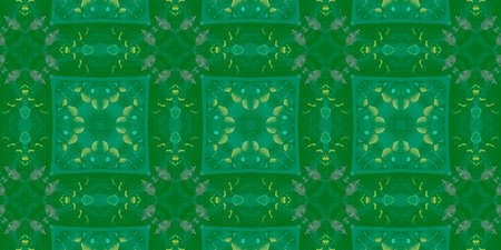 Hand Drawn Geometrical Pattern. Simple Natural Kaleidoscope Banner. Background Hand Drawn Geometrical Pattern. Graphic Fashion Andalusia Decor. Graphic Daisy Mosaic Archivio Fotografico - 150610477