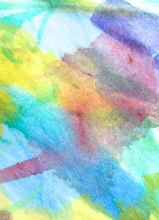 Wall Art Canvas. Simple Preschool Sketch.  Aquarelle Dreamy Banner. Triangular Design Elements Background. Futuristic Child Painting. Simple Art.