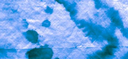 Seamless Water Color Pattern. Navy Alcohol Ink  Texture. Background Seamless Water Color Pattern. Craft Indigo Vivid Art. Tie Dye Denim