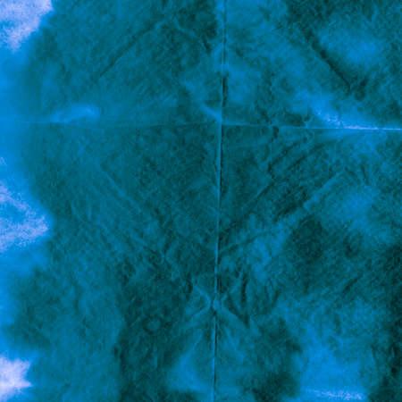 Seamless Water Color Pattern. Ocean Alcohol Ink Tie-dye Art. Background Seamless Water Color Pattern. Creative Jeans Vivid Artwork. Shibori Velvet Archivio Fotografico - 150626124