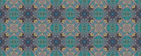 Portuguese Decorative Tiles. Mint Andalusia Wall. Vintage Kilim Banner. Portuguese Decorative Tiles Background. Faience Purple Ornament. Magenta Stockfoto