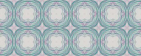 Portuguese Decorative Tiles. Faience Symmetry Texture. Portuguese Decorative Tiles Background. Italy Drawn Ornament. Watercolour Watercolor Fashion Design. Grunge