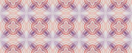 Background Hand Drawn Geometrical Pattern. Line Floral Modern Wall. Hand Drawn Geometrical Pattern. Repeat Ethnic Spanish Motif. Cartoon Floral Grunge