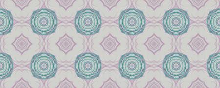 Portuguese Decorative Tiles. Geo Oriental Ornament. Portuguese Decorative Tiles Background. Islam Line Print. Gouache Embroidery Kilim Style. Graphic Stockfoto