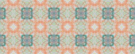 Hand Drawn Geometrical Pattern. Hand Garden Ornate Surface. Background Hand Drawn Geometrical Pattern. Repeat Fine Turkey Ornament. Freehand Natural Ornate