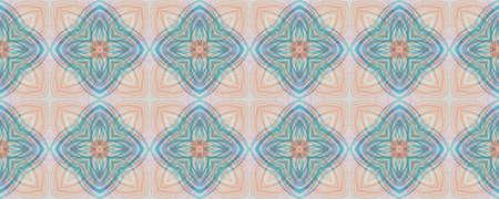 Portuguese Decorative Tiles. Faience Symmetry Wall. Portuguese Decorative Tiles Background. Sicily Graphic Illustration. Ink Bohemian Orient Pattern. Simple