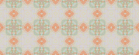 Background Hand Drawn Geometrical Pattern. Hand Flower Vintage Backdrop. Hand Drawn Geometrical Pattern. Square Ethnic Mediterranean Texture. Freehand Vintage Ornate