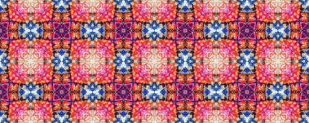 Portuguese Decorative Tiles. Kilim Embroidery Illustration. Portuguese Decorative Tiles Background. Moroccan Backdrop. Ornate Design. Ikat Moroccan Backdrop.