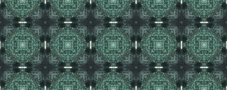 Portuguese Decorative Tiles. Magenta Arabian Motif. Mosaic Boho Decor. Portuguese Decorative Tiles Background. Aztec Galaxy blue Pattern. Mint Stockfoto