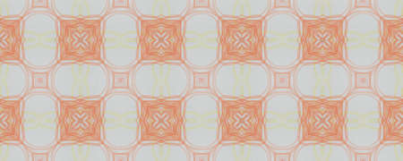 Background Hand Drawn Geometrical Pattern. Drawn Daisy Symmetry Decor. Hand Drawn Geometrical Pattern. Striped Aztec Indian Backdrop. Stripe Petal Bohemian Banco de Imagens