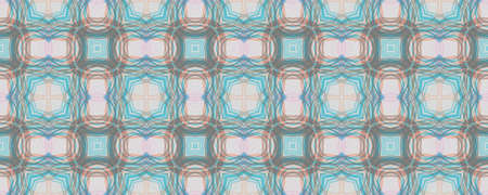 Hand Drawn Geometrical Pattern. Line Hawaii Patchwork Design. Background Hand Drawn Geometrical Pattern. Graphic Tile Mediterranean Print. Cartoon Daisy Arabesque