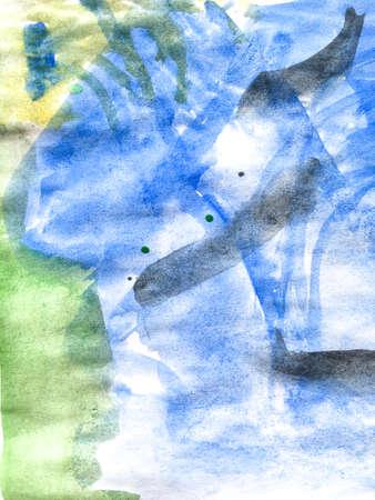 Triangular Design Elements Background. Acrylic Cute Picture. Wall Art Canvas. Fun Preschool Print.  Vibrant Children Paint. Fun Paint. 版權商用圖片