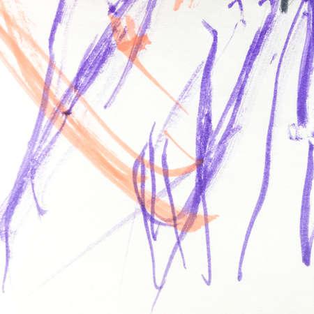 Wall Art Canvas. Beautiful Childish Art.  Aquarelle Dynamic Illustration. Triangular Design Elements Background. Vibrant Child Paint. Happiness Picture.