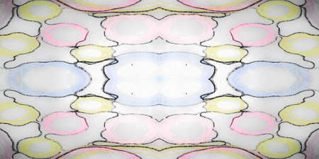 Hand Drawn Geometrical Pattern. Mint Cyberpunk Paper. Hand Drawn Geometrical Pattern Background. Disco Ornament Scrapbook. Funky Purple Banner. Violet