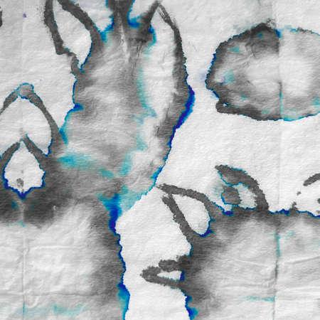 Sky Dirty Art Violet Pattern. Metallic Ethnic Ink Pattern. Lavender Hand Drawn Pattern. Hand Drawn Violet Texture. Sky Marble Ethnic Pattern.