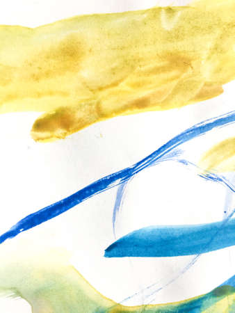 Wall Art Canvas. Cartoon Child Art.  Aquarelle Futuristic Paint. Triangular Design Elements Background. Scandinavian Childish Poster. Summer Card.