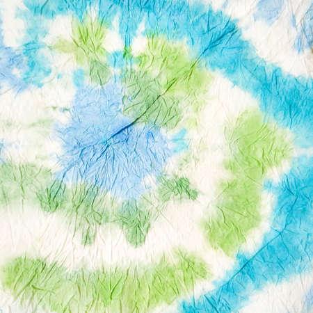 Vivid Watercolor Design. Indian Ikat. Watercolor Silk Pattern. Dye Background Print. Tie-dye Artwork. Dirty Art Craft Design. Watercolor Pattern. 免版税图像