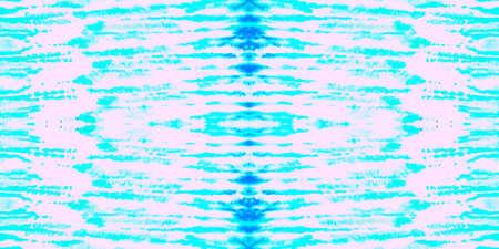Seamless Pattern Textile Kaleidoscope. Aquarelle Ocean Sky Textile. Seamless Textile Kaleidoscope Pattern. Subtle Blue Bohemian Texture. Pastel Cloud Ethnic Texture. Stock fotó