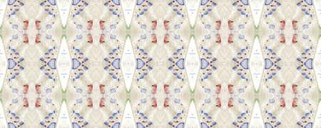 Portuguese Decorative Tiles. Portuguese Decorative Tiles Background. Floral Chevron Decor. Summer Sicily Decor. Oriental Sicily Print. Floral Summer Stock fotó