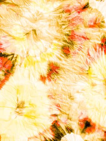 Watercolor Batik Repeat. Organic Alcohol Ink Watercolor Art. Watercolor Batik Repeat Print. Tie-dye Orange Burn Art. Paintbrush Pastel Rough Art.