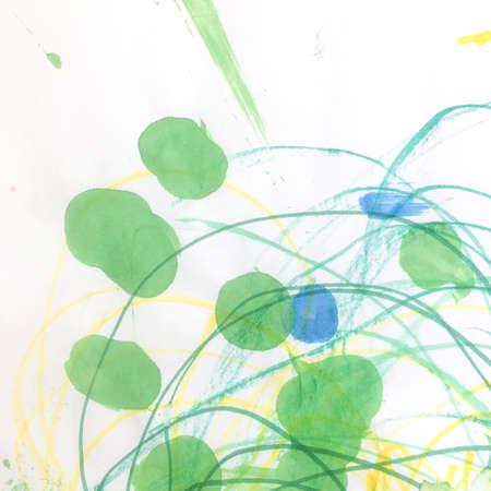 Triangular Design Elements Background. Gouache Scratch Card. Wall Art Canvas. Artistic Baby Surface.  Modern Babyish Illustration. Beautiful Pattern. Stock fotó