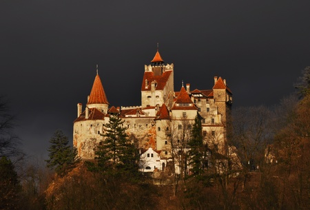 Bran Castle - Count Draculas Castle, Romania photo