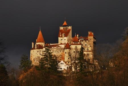 Bran Castle - Count Dracula's Castle, Romania 版權商用圖片